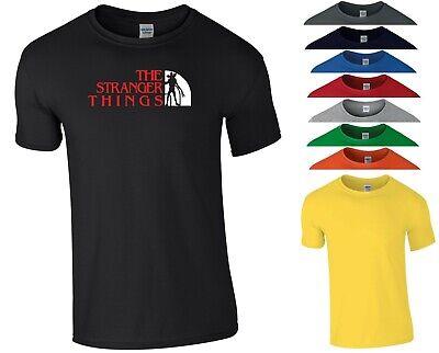 Stranger Things T Shirt Inspired Upside Down Halloween Birthday Gift Men Tee Top