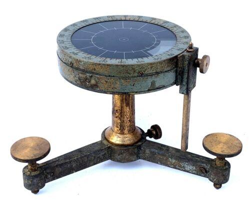 Brass Ship Compass Vintage Collectible Maritime Compass.