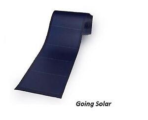Unisolar Pvl72 72w 12v 24v Flexible Thin Film Solar Panel