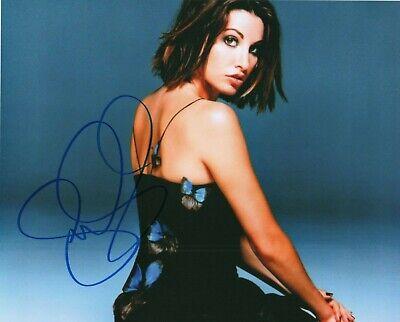 Autographed Gina Gershon signed 8 x 10 photo Nice