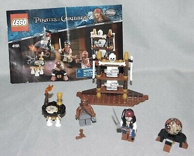 Lego Pirates of the Caribbean 4191 The Captain's Cabin with Instructions