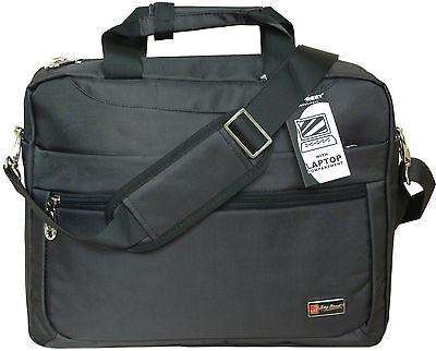 !Top! Notebooktasche 15 - 15,6 Zoll schwarz Nylon Laptop Schultertasche Netbook
