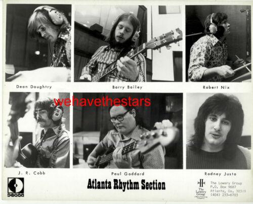 VINTAGE Atlanta Rhythm Section 60s POP VOCAL GROUP Publicity Portrait