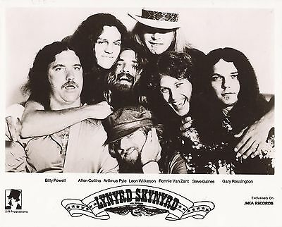 LYNYRD SKYNYRD - STREET SURVIVORS PRESS PHOTO