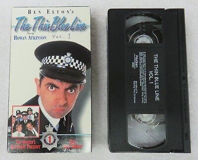 The Thin Blue Line (VHS Movie) Vol. 1 - Rowan Atkinson - Fire and