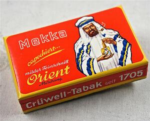 RARO-tabakschachtel-de-carton-con-Oriental-JEQUE-ANTIGUA
