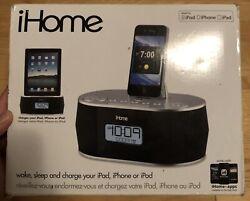 iHome iD38 Dual Alarm FM Clock Radio for iPod/iPad/iPhone - Very Nice! Tested