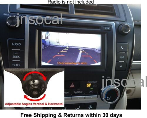 Backup Camera Kit For Toyota Camry, Prius, Rav4, Corolla 2012, 2013, 2014