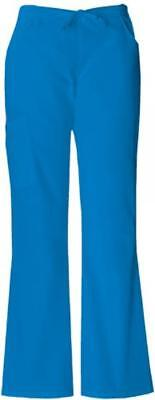 Wmn Missy Every Day Scrubs Back Elastic Flare Leg Pant Island Blue XX-LG (Everyday Ladies Flare Scrub Pant)