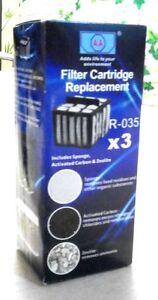 AA Aquarium Filter Media R-035-3 (3 medias in one packet)