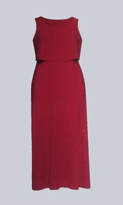 Esmara Oversized Maxikleid Kleid pink-rot Gr. 3XL 56-58 Plussize Collection .