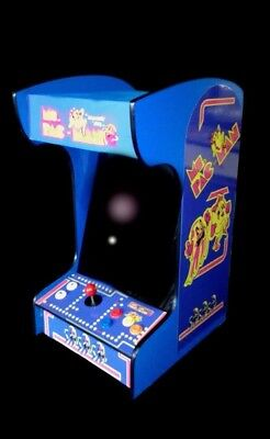 Arcade Machine with 412 Classic Games  Ms Pacman