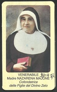 Estampa-antigua-Venerable-Madre-Majone-andachtsbild-santino-holy-card-santini