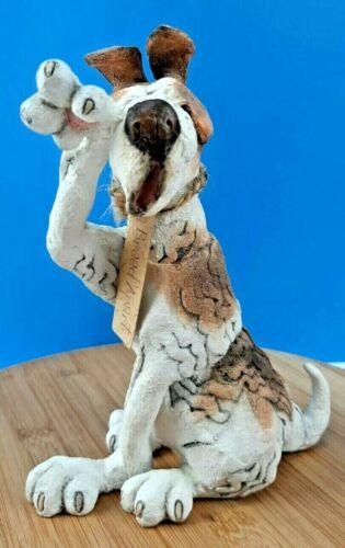 "A Breed Apart Rascal Dog Figurine Country Artist 7"" Enesco # 05134"