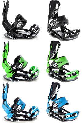 Snowboard Bindung Raven Fastec FT270 Black, Green, Blue M, L oder XL 2019 - Neu!