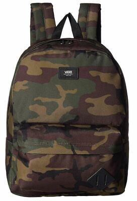 Vans Old Skool III Classic Camo Nylon Shoulder Bag Backpack