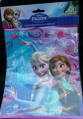 Frozen Bags Disney (16 ~Disney Frozen~ Loot/Goodie Birthday Party Bags with Elsa and Anna,Favor)