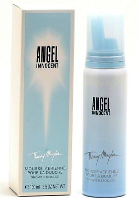 Thierry Mugler ANGEL INNOCENT (3.5oz/100ml Shower Mousse (NIB) 3.5 Ounce Shower Mousse