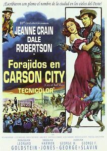 City Of Bad Men  **Dvd R2** Jeanne Crain, Dale Robertson,