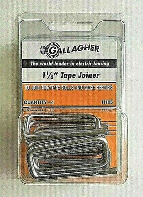 Gallagher 1.5 Tape Joiner Splice Buckle For Polytape Electric Fence H105 New