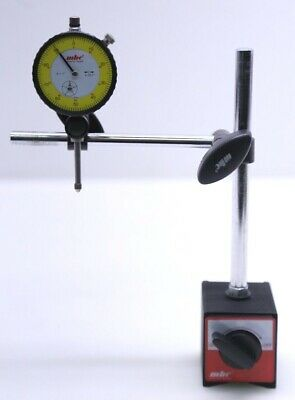 Mhc Dial Gauge Range 0-1 Reading 0.001 With Magnetic Base