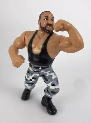 WWF WWE Hasbro Bushwacker Luke Down Under Pounder Toy Figure Series 1991 Rare