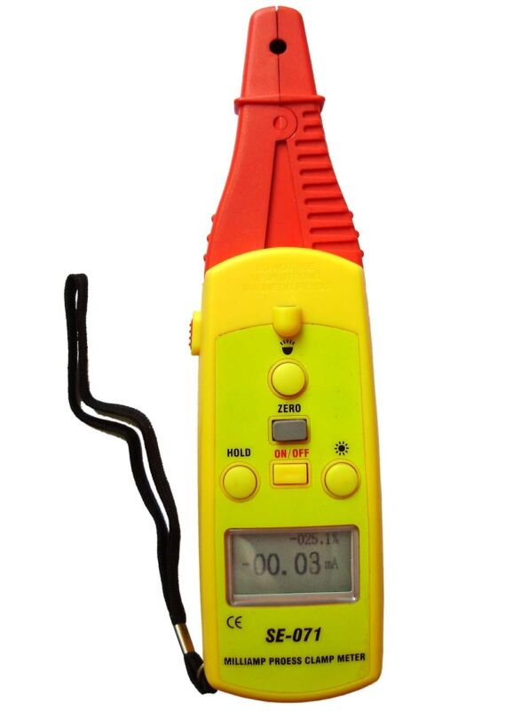 SE-071 DC 40 mA Process Clamp Meter,10μA  Resolution