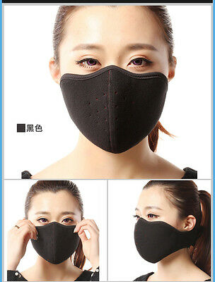 Outdoor Sport Cycling Motorcycle Winter Warm Fleece Breathable Half Face Mask US
