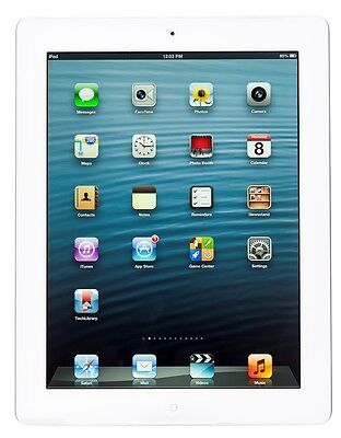 Apple iPad 2 2nd Generation 64GB (Verizon) White Used Cond 3G + Wi-Fi Tablet