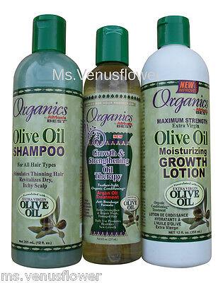 Africa's Best Hair Growth Argan Oil Treatment,Olive Oil Growth Lotion &