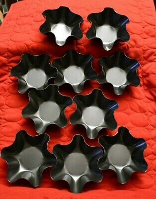 10 Taco Bowls Tortilla Shell Molds - Baked - Non-stick - NEW - dishwasher safe (Tortilla Shell Molds)