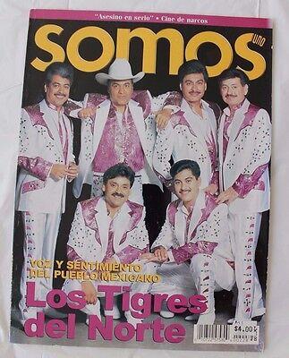 LOS TIGRES DEL NORTE, REVISTA SOMOS MEXICO, COMO TV Y NOVELAS, TV NOTAS