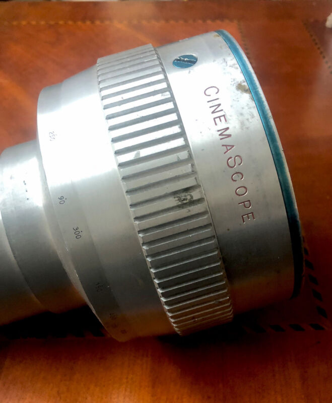 Bell And Howell B&H Anamorphic Cinemascope Projection Lens 35mm Film Movie 335B