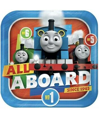 Thomas & Friends Full Steam Ahead Party Dinner Plates (8 ct)