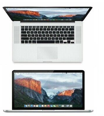 """MacBook Pro 15"""" Quad Core i7 2.2GHz 16GB Ram 256GB SSD MGXA2LL/A A1398"""