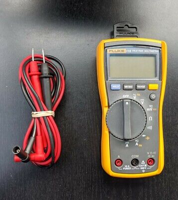 Fluke 115 Compact True Rms Digital Multimeter With Leads - Excellent Condition