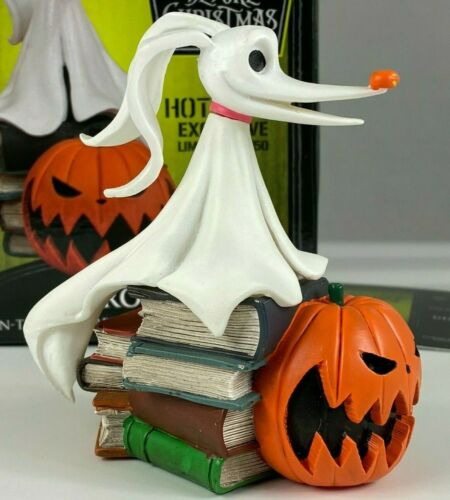 NIGHTMARE BEFORE CHRISTMAS ZERO GLOW IN THE DARK RESIN BUST LIMITED TO 750, #702