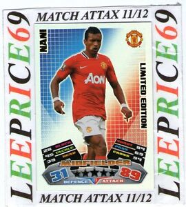 MATCH ATTAX EXTRA 11/12 CHOOSE 100 / HUNDRED CLUB / LIMITED EDITION