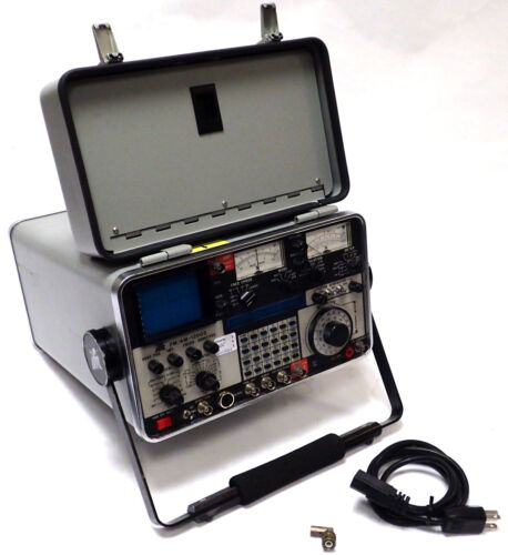 IFR FM/AM-1200S COMMUNICATIONS SERVICE MONITOR / SPECTRUM ANALYZER, *TESTED*