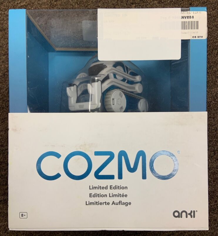 Limited Edition Anki Cozmo Interstellar Blue Fast Priorty Ship!!