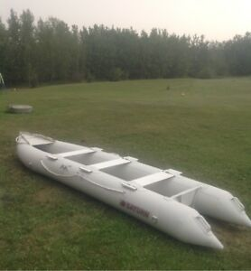 SATURN  14'  Inflatable boat  (Price Reduced !)