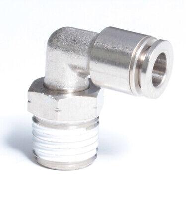 Pack of 10 M5 Plastic MettleAir SPU-M5 Pneumatic Slotted High Flow Muffler Silencer Filter