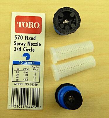 25 TORO 12 Full 360 Degree NOZZELS FOR ALL 570 SERIES