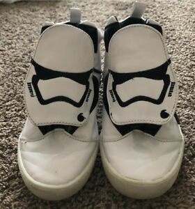 Star Wars storm trooper Size 13  sneakers shoes Disney store