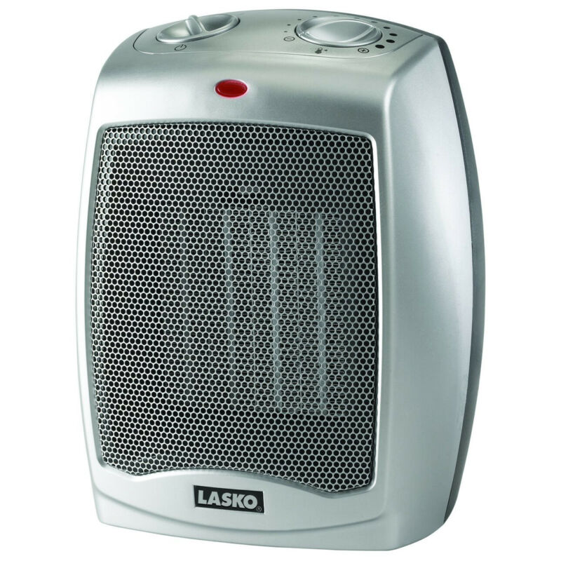 Lasko 754200 Portable Home/Office Personal Electric 1500W Ceramic Space Heater