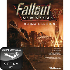 FALLOUT NEW VEGAS ULTIMATE EDITION PC STEAM KEY