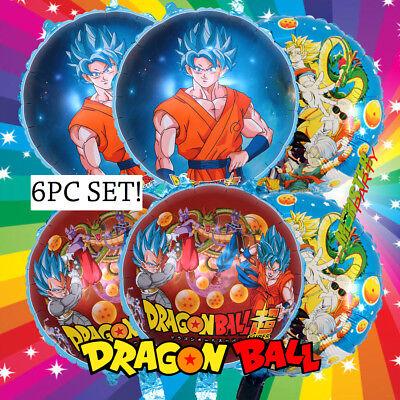 XL GOKU DRAGON BALL Z SUPER Party Birthday Anime Cartoon Balloon DRAGONBALL