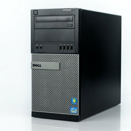 Dell 9010 Business Tower Computer I7 3.9ghz 16gb 2tb Hdd Dvd Wifi Windows 10 Pro