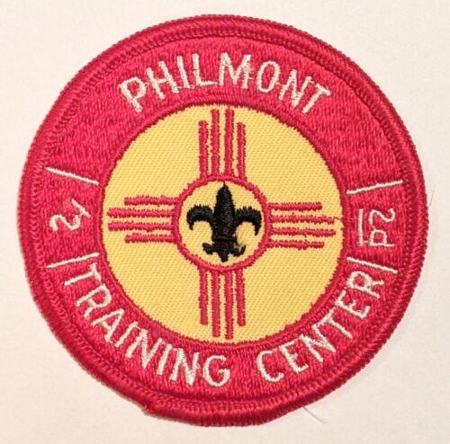 Philmont Scout Ranch Boy Scouts PTC Philmont Training Center patch gauze back