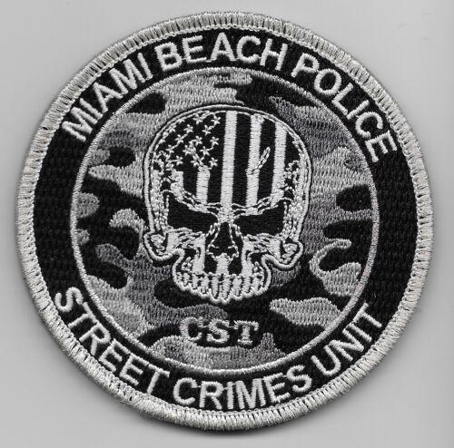 Miami Bch Police Street Crimes SWAT SRT State Florida FL